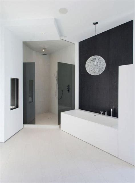 modern black and white bathroom ideas 15 contemporary black and white bathroom ideas rilane