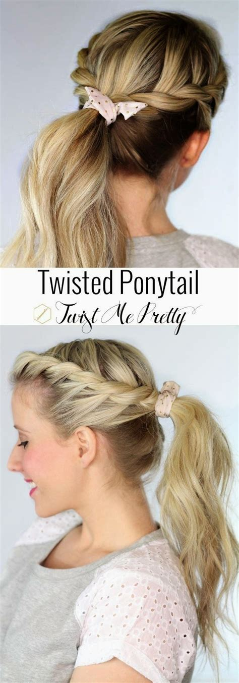 Straight Puffy Cheer Ponytail | 25 best ideas about long ponytail hairstyles on pinterest