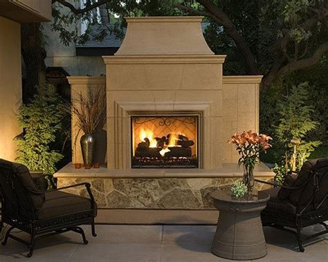 cost of an outdoor fireplace landscaping network