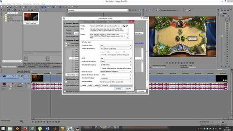tutorial sony vegas pro 12 sony vegas pro 12 tutorial espa 241 ol renderizar en hd con