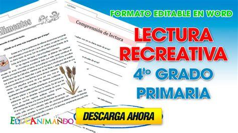 descargar pdf el incal integral libro de texto lectura recreativa 4to grado primaria material para maestros planeaciones ex 225 menes material