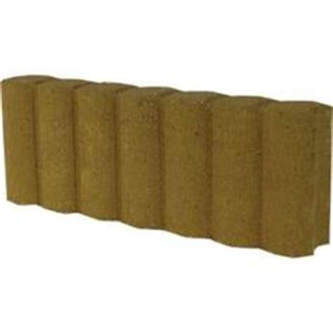 fulton tan matt log edging stone common