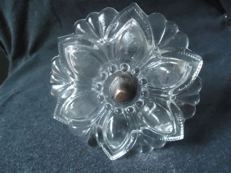 antique glass curtain tie backs vintage clear glass curtain tie back