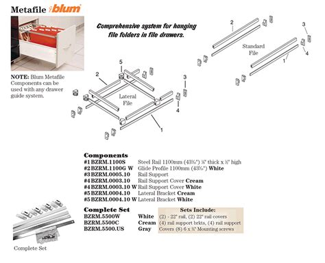 blum file drawer rails hardware distributors ltd