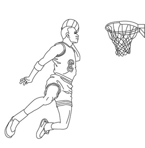 coloring pages of basketball players of the nba nba coloring pages coloringsuite com