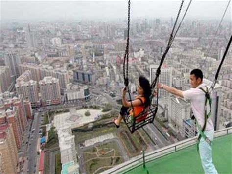 highest swing in the world world s highest swing neatorama