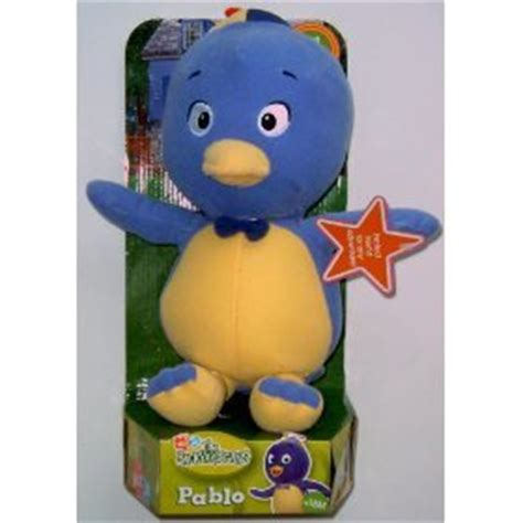 Backyardigans Dolls Backyardigans Pablo Plush Doll Toys