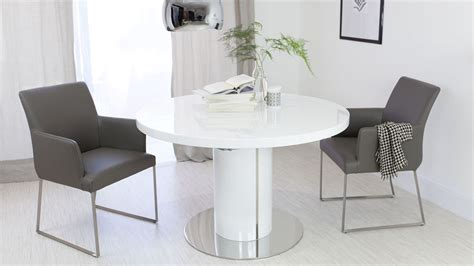 modern white table l endearing modern white table extraordinary dining
