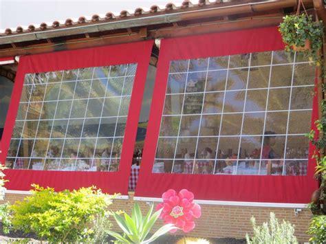 wetterschutzrollo terrasse durchsichtiges folienrollo f 252 r terrassen als