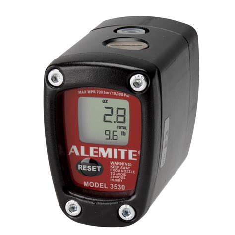 alemite electronic grease meters  skf group brand