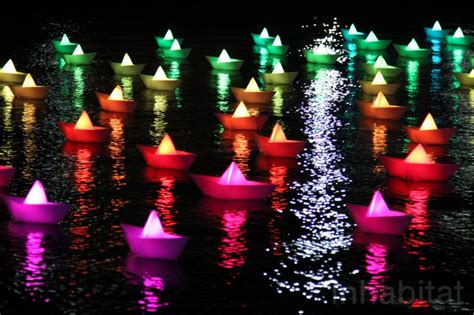 lights baltimore large scale light festival in us casts a magical