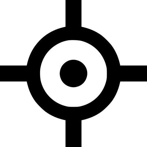 target cursor pointer ui svg png icon