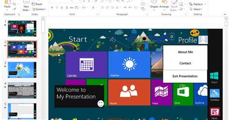 theme powerpoint windows 7 windows 8 v2 powerpoint template 2014 b4sharing