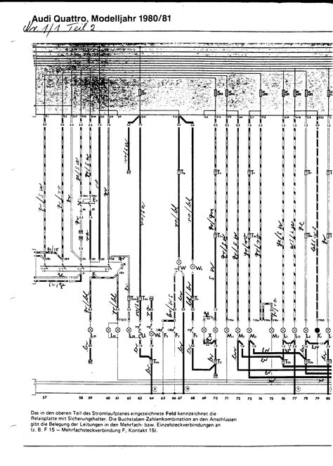 audi ur quattro wiring diagrams numeric index