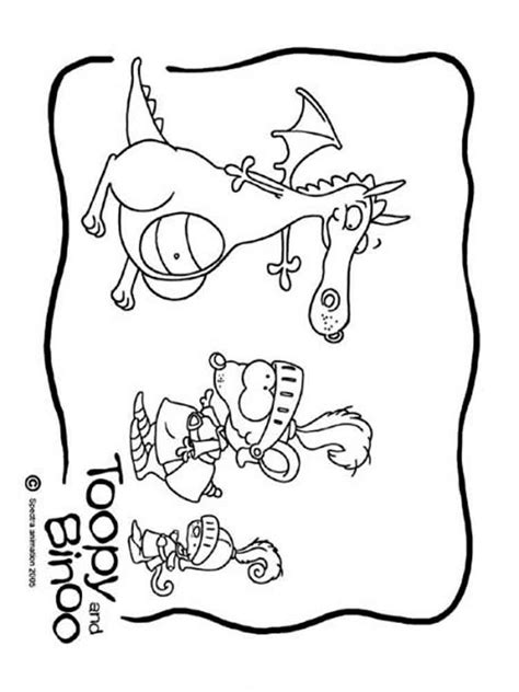 toopy and binoo coloring pages free printable toopy and