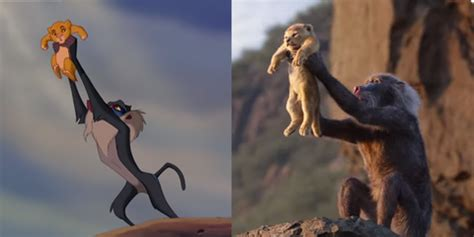 lion king  comparing remake animation   original