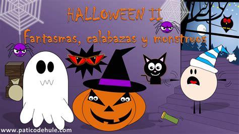 imagenes monstruos halloween cuento de halloween para ni 241 os fantasmas calabazas y