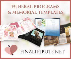 Sle Obituary Template Your Tribute Tribute Templates For A Funeral