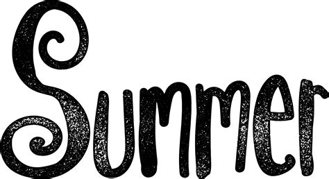 Enjoy Summer Black summer clipart black and white for free 101 clip