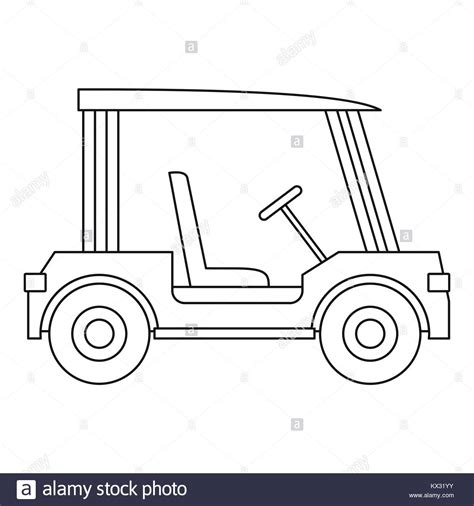 Outline Style Auto by Car Outline Black And White Stock Photos Images Alamy