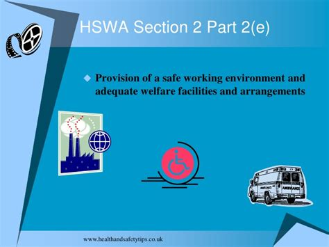 hswa section 6 d part 7 section 2 hswa revision