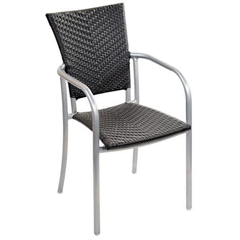 Aluminum Patio Chairs by Faux Rattan Aluminum Patio Chair