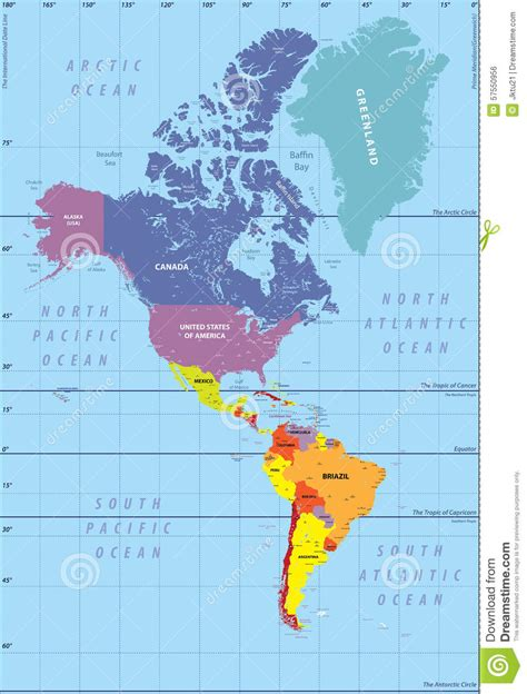 america s map of north america and south america roundtripticket me