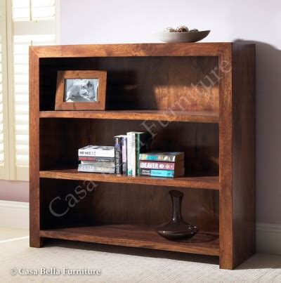 Bookcase Dakota 1 solid mango wood bookcase small casa indian furniture