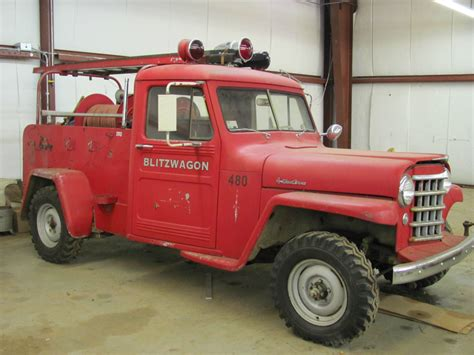 jeep fire truck willys jeep fire truck for sale