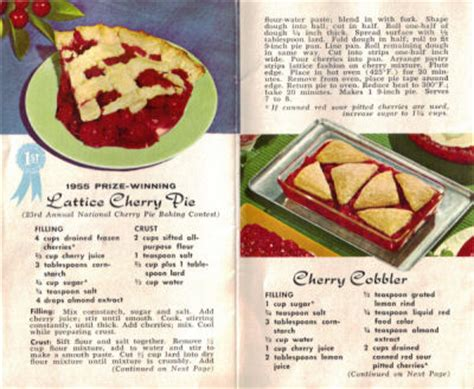 cherry pie rubber sts kitten vintage vintage cherry recipes coffee