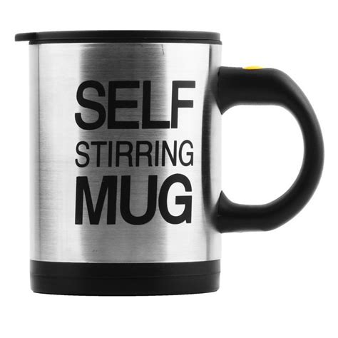 Automatic Self Stirring Mug Steering Coffee Cup Gelas A Terjamin automatic self stirring coffee mug