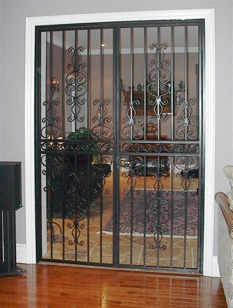 security screen doors  double entry internal security