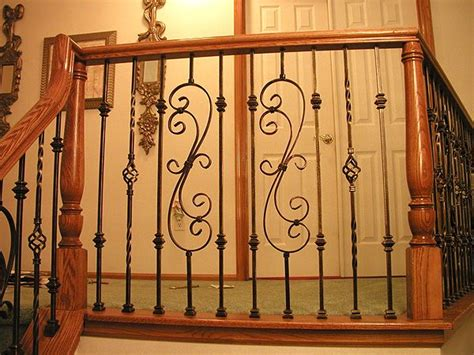 Iron Banisters Iron Spindles For Interior Stairs Custom Ironwork