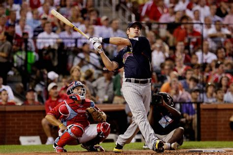 joe mauer photos photos state farm home run derby zimbio
