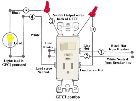 gfci wiring diagram wiring diagram