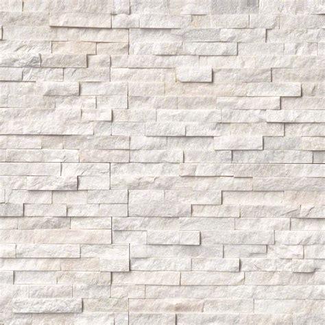"Artic White Ledger Stone   6""x24""   Floors USA"