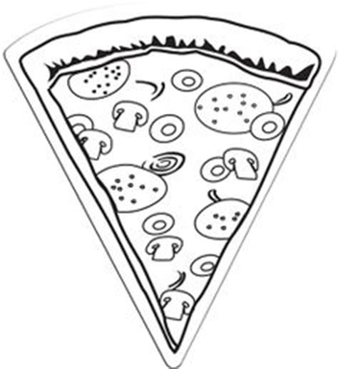 pizza coloring pages preschool slice pizza coloring page cookie pinterest slice