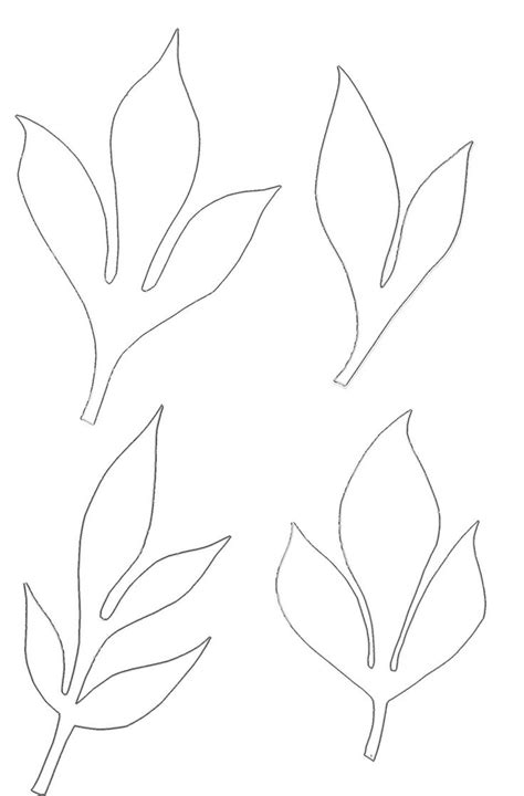 paper leaf template 250 best flowers images on paper flowers