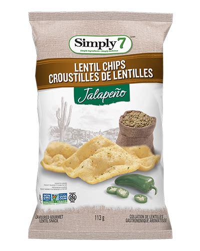 Simply7 Lentil Chips Bruschetta Cemilan Lentil Sehat Snack Vegan lentil chips jalapeno simply 7 snackssimply 7 snacks