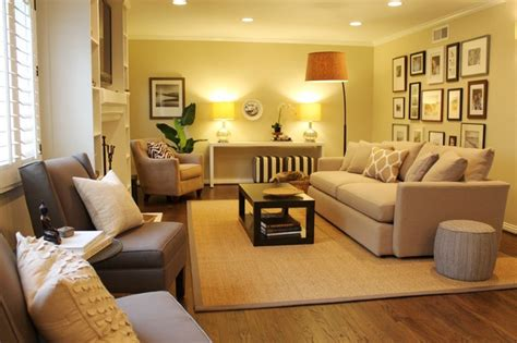 neutral wall colors for living room gallery wall neutral color scheme transitional space contemporary living room los
