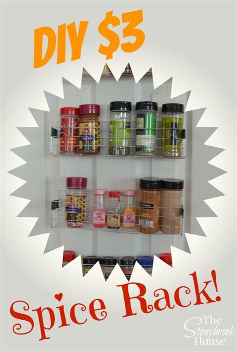 diy spice rack dollar store best 25 diy spice rack ideas on kitchen spice storage spice racks and spice rack