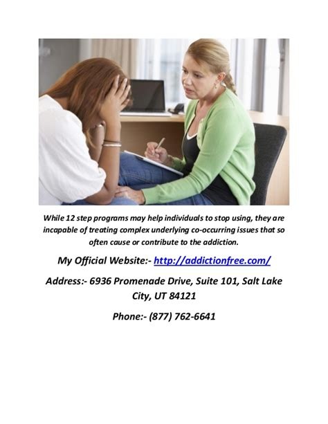 Step Detox Center by Non 12 Step Rehab Centers In Salt Lake City