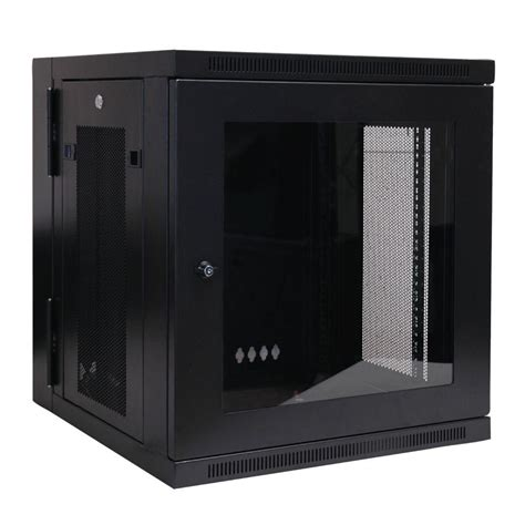 tripp lite 12u wall mount rack enclosure cabinet wallmount