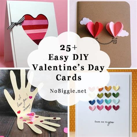 and simple valentines day ideas 25 easy diy s day cards card ideas diy