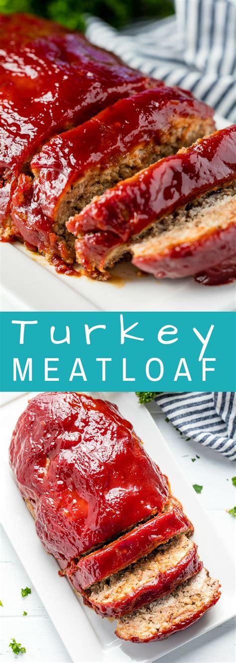 easy turkey meatloaf recipe healthy turkey meatloaf
