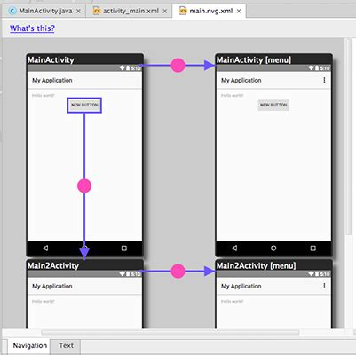 android studio tutorial for dummies android studio s navigation editor dummies