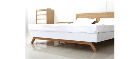 Kasur Bed Uk 160 helia scandinavian style bed 160x200cm miliboo