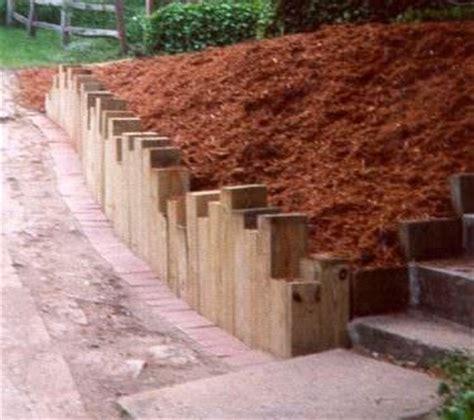 Landscape Edging To Prevent Erosion 25 Best Wooden Garden Edging Ideas On Rustic