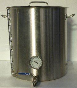 Brewferm Stainless Steel Brew Kettle Boiler - home brew supplies uk stainless steel 56 ltr electric