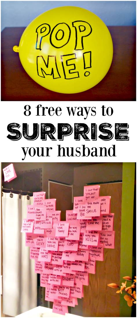 how to surprise your man in bed 8 meaningful ways to make his day free gift and